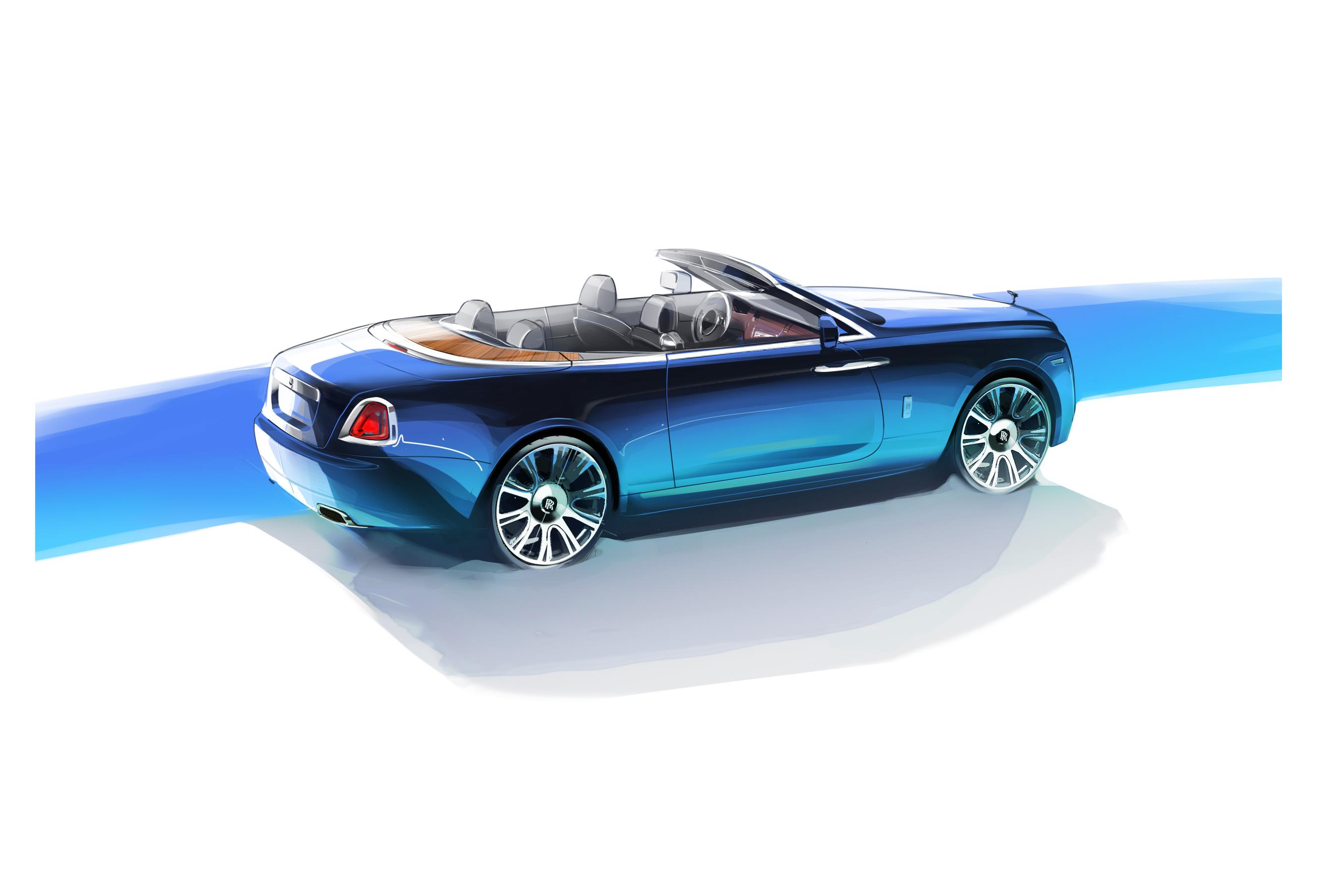 Rolls-Royce Dawn Named Design of the Year by Robb Report