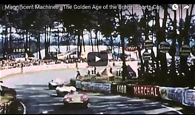 VotW - Magnificent Machines - The Golden Age of the British Sports Car