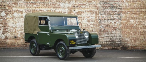 WORLD DEBUT FOR LAND ROVER SERIES I 'REBORN' AT 2016 TECHNO-CLASSICA 5