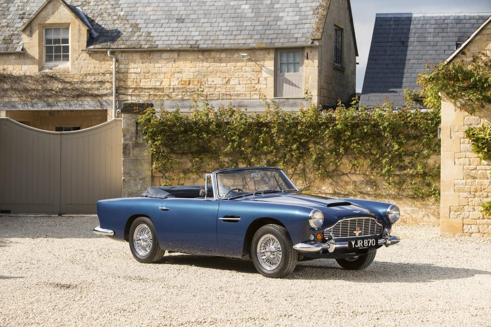 1963 Aston Martin DB4 Series V Vantage Convertible_02
