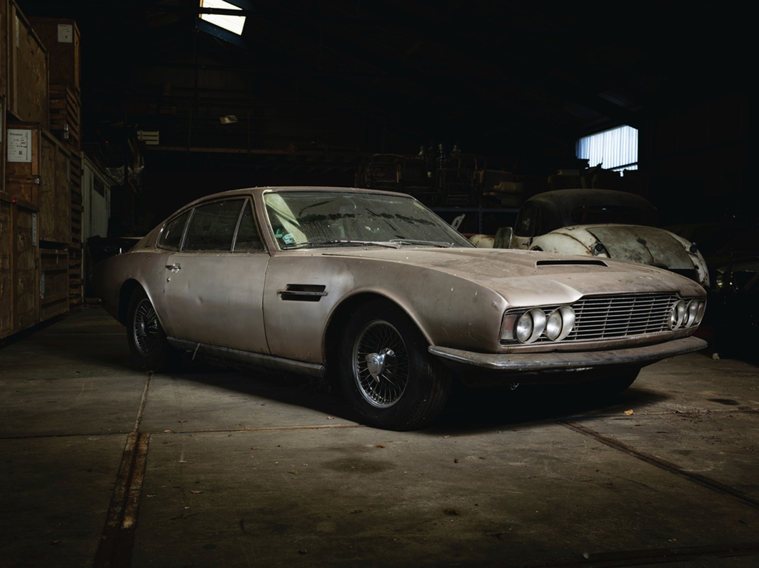 Early Aston Martin DBS Barn Find To Be Auctioned