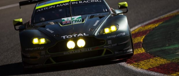 Aston Martin Qualifies in Pole Position for Spa-Francorchamps