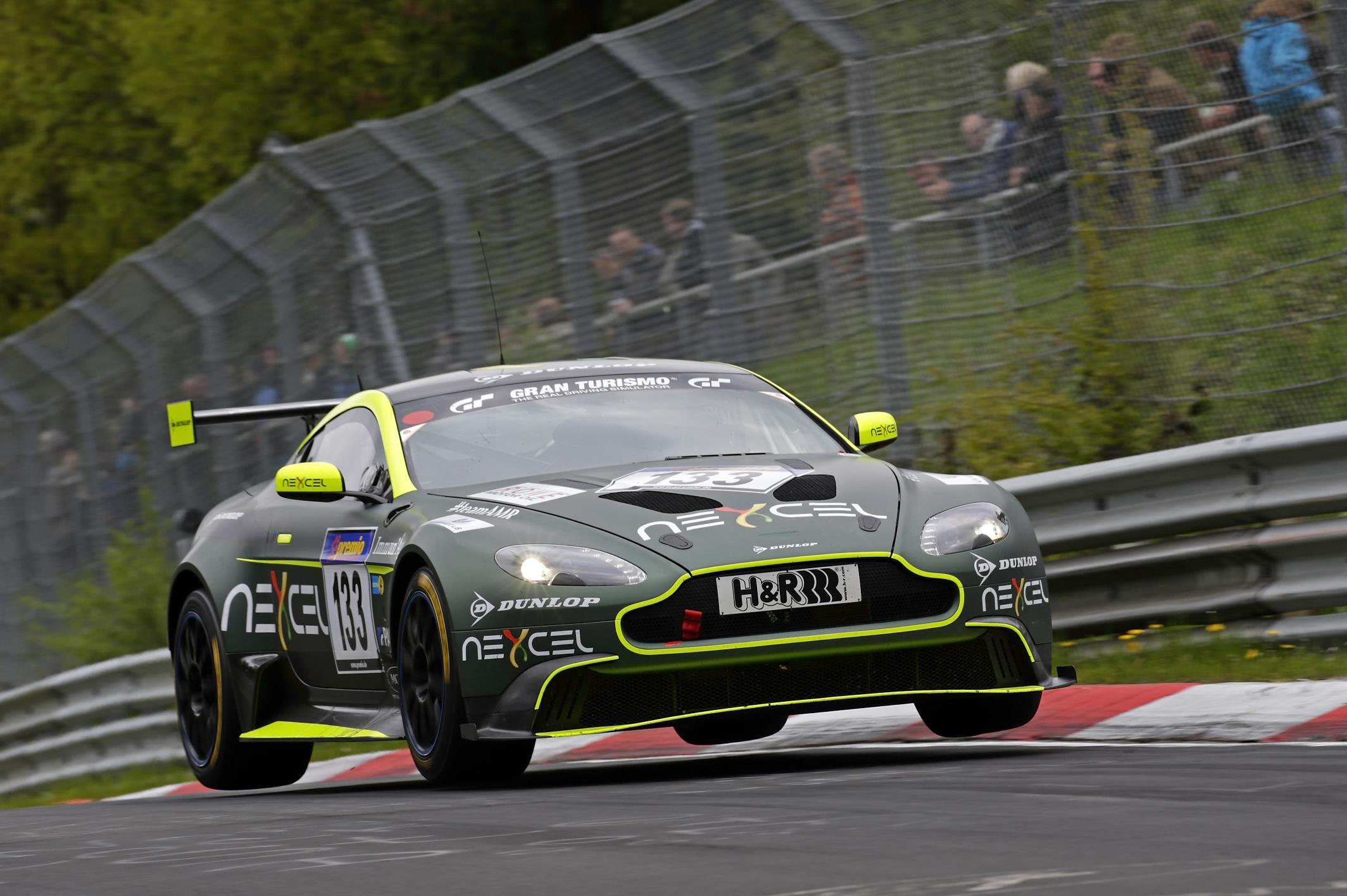 Aston Martin Vantage Race Car