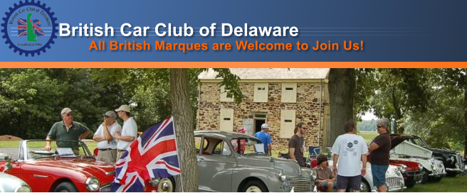 British Car Club of Delaware - Brits By The River