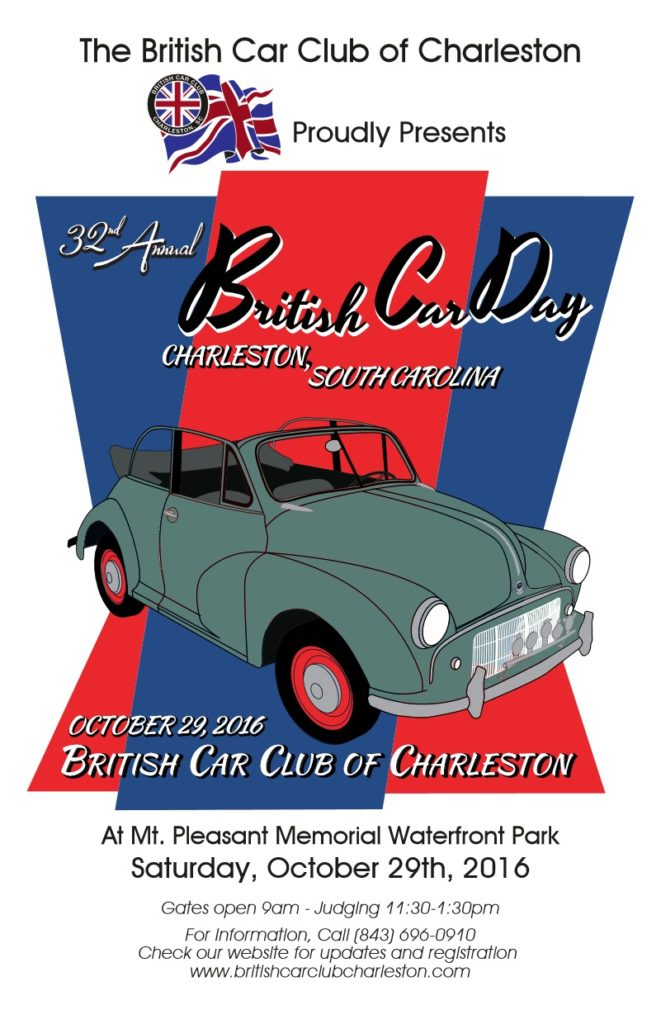 British Car Club of Charleston, 32nd Annual British Car Day