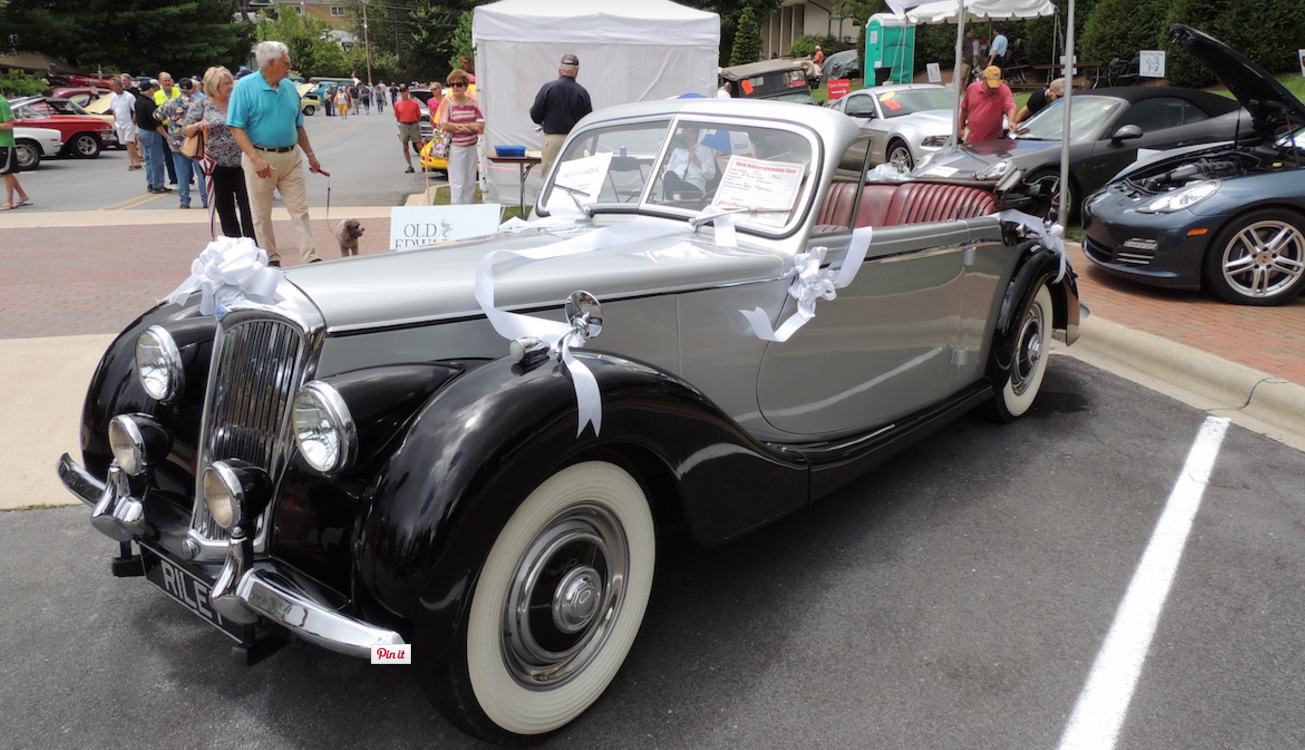 Highlands Motoring Festival car