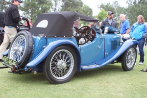 1936 MG PB at Pinehurst Concours