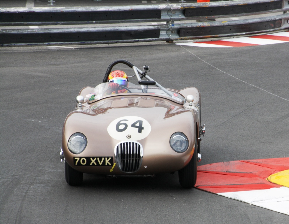 JD Classics' ex-Fangio C-Type takes third consecutive victory