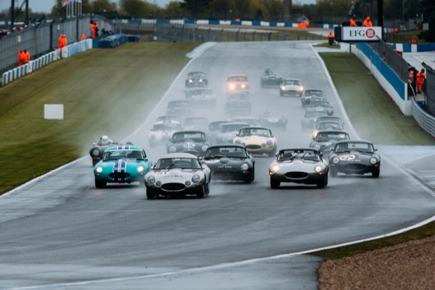 Jaguar Classic Challenge sees Thomas and Lockie win action-packed race at Donington - Field