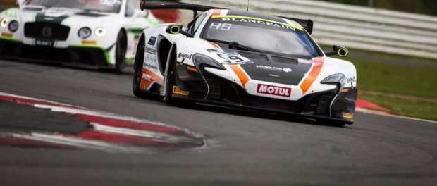 Top 10 finish on home soil keeps McLaren GT Factory Driver Rob Bell in Blancpain Title Hunt 2