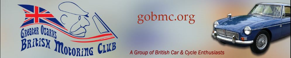 17th Annual GOBMC All British CAR & CYCLE Show, Carthage, MO