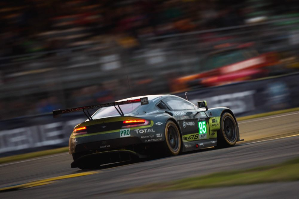 Aston Martin Racing leave Le Mans as World Endurance Championship leaders 2