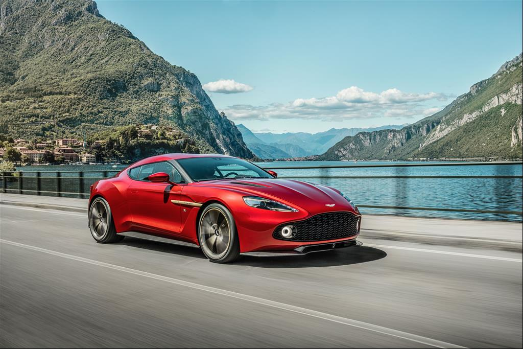 Aston Martin Unveils Limited Edition Vanquish Zagato Just British