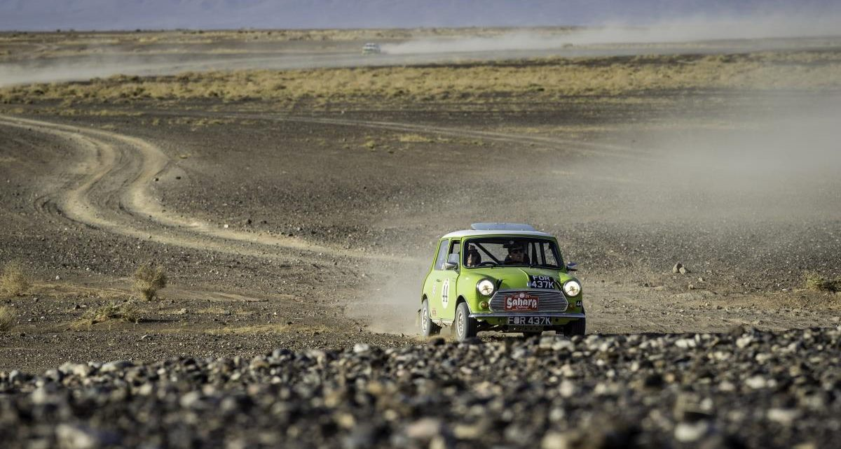 Austin Mini takes on Peking to Paris Motor Challenge