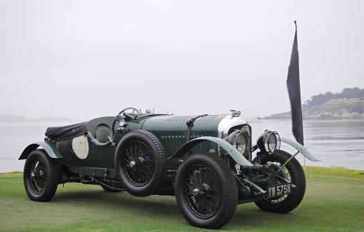 Bentley 4 1-2 litre YW 5758