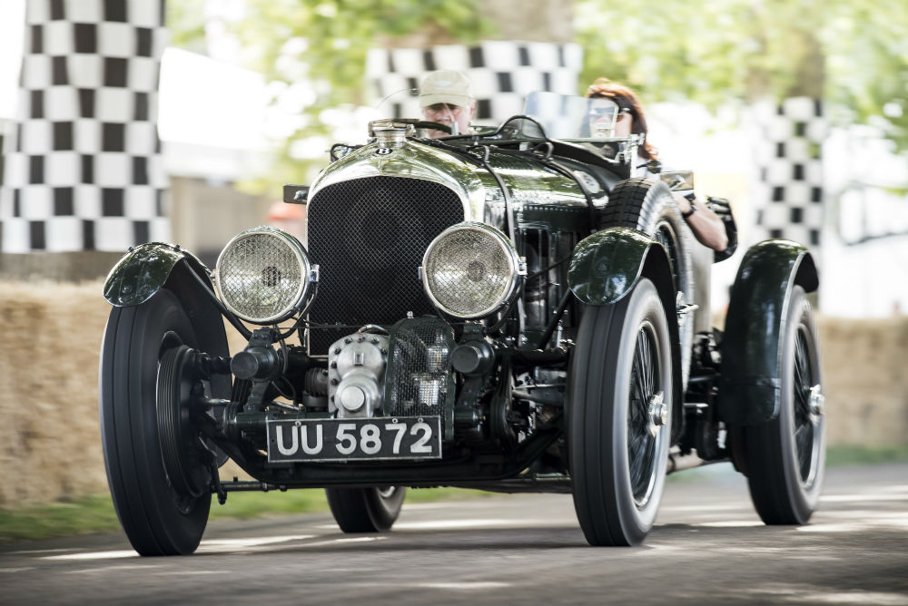Bentley 4.5 Litre Blower to be at Goodwood Festival of Speed