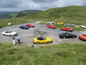 The Bullet Run - Bwlch y Groes car park TR7 parking only 001