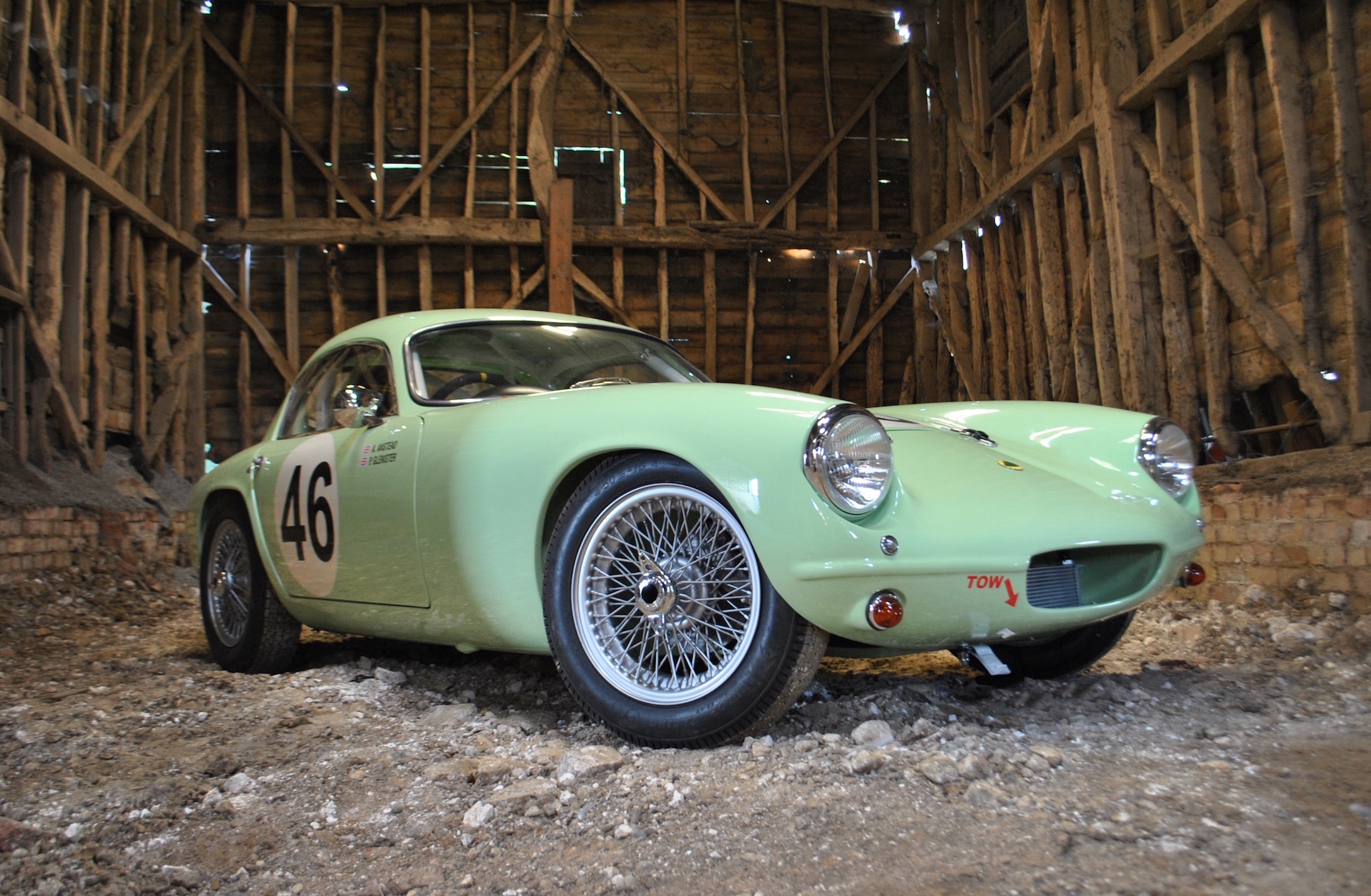 First Production Lotus Elite to be Auctioned