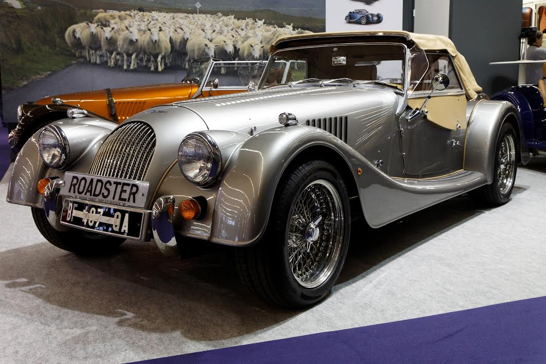 Retromobile 2011 - Morgan V6 Roadster