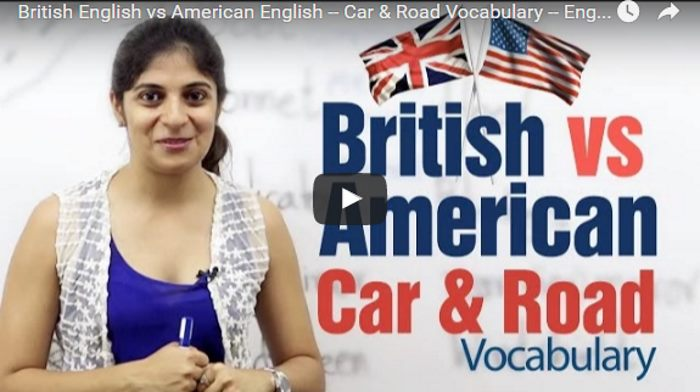 VotW - English vs American Automotive Vocabulary