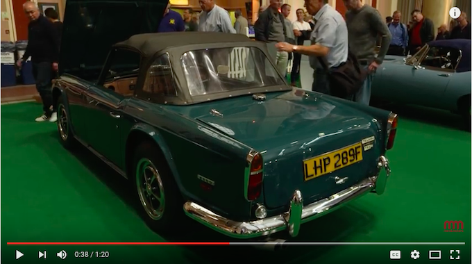 VotW - Unrestored Survivor Triumph TR5
