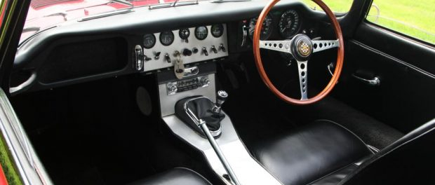 1961 Jaguar E-Type Series 1 Roadster Chassis #62 - Interior
