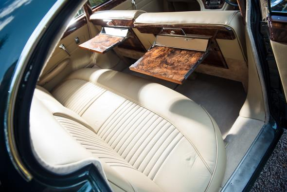 1961 Jaguar Mk X owned by Sir William Lyons - Interior