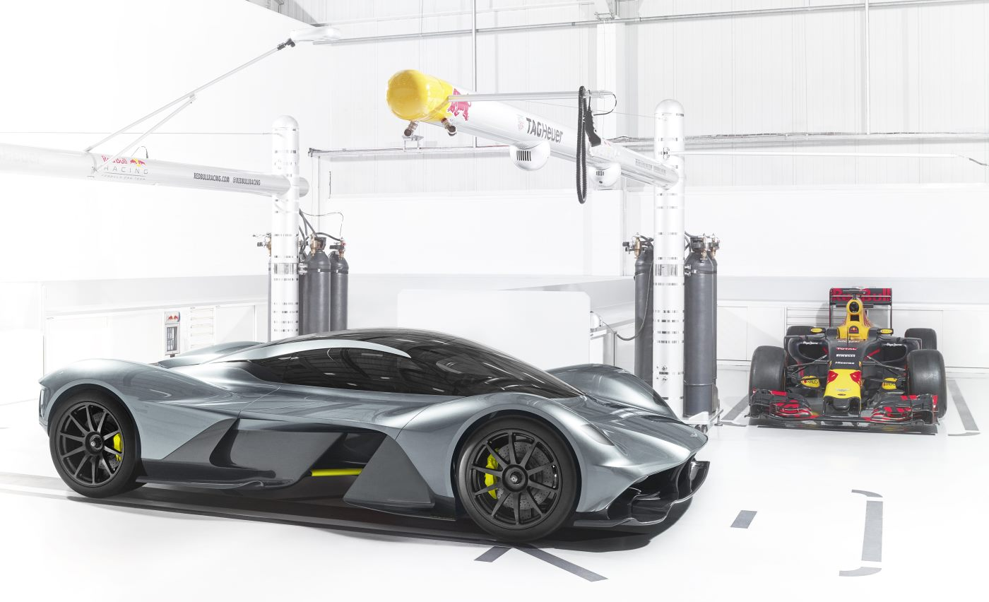 Aston Martin and Red Bull Racing unveil AM-RB 001 hypercar 07