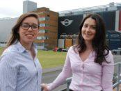Autocar Awards - Philippa Napier & Rachel Neary - Female Engineers at Oxford MINI Plant