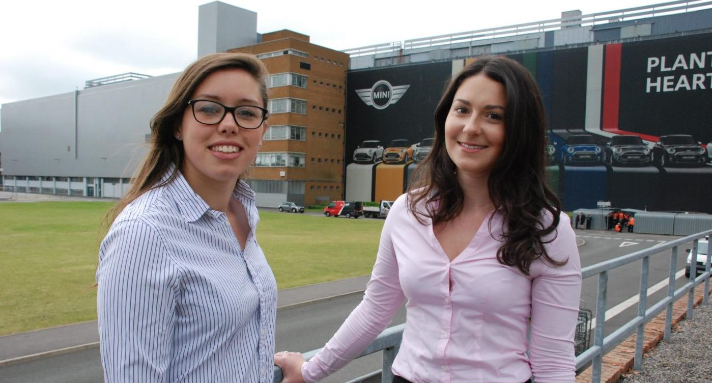 Autocar Awards - Philippa Napier & Rachel Neary - Female Engineers at Oxford MINI Plant