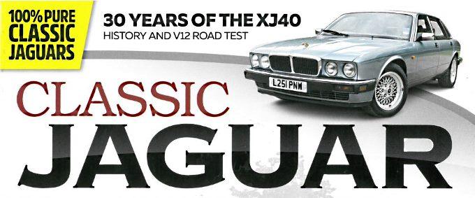 Classic Jaguar Magazine Issue #1 - Article Banner