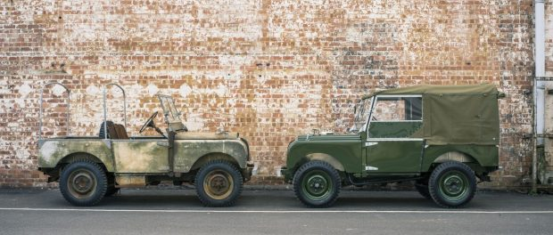 Land Rover Reborn - Car Zero