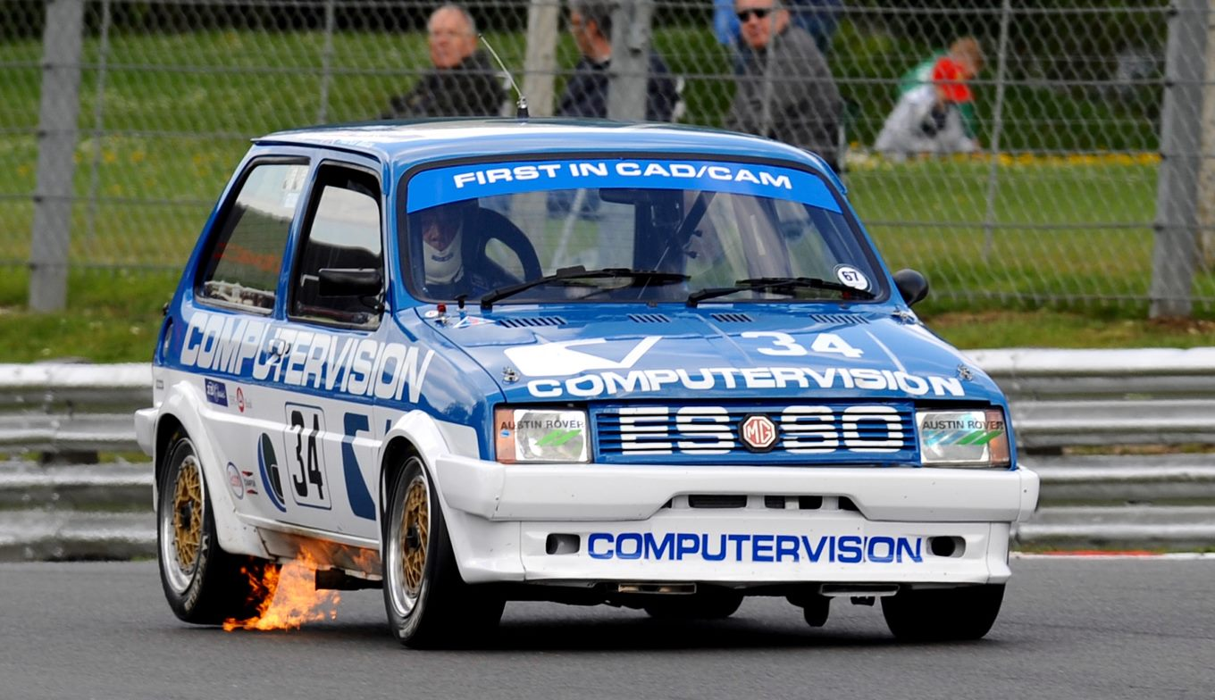 MG Metro Turbos Return to Silverstone - Patrick Watts