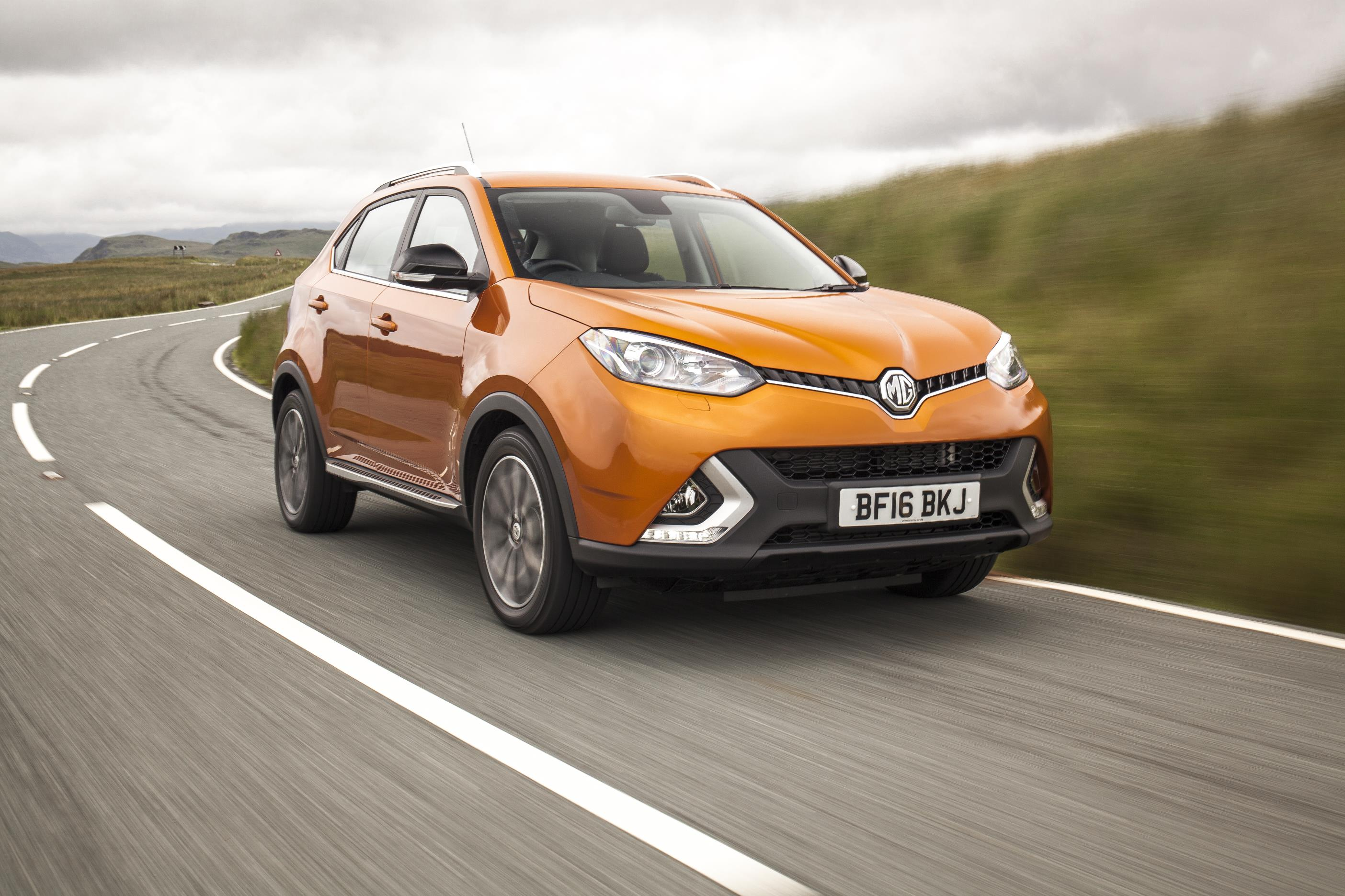 MG Motor celebrates record half-year sales