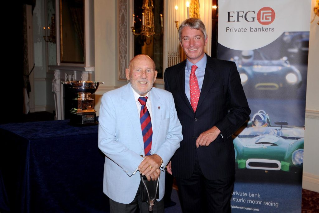 RAC Woodcote Trophy Competitors Celebrate 10th Anniversary - Stirling Moss