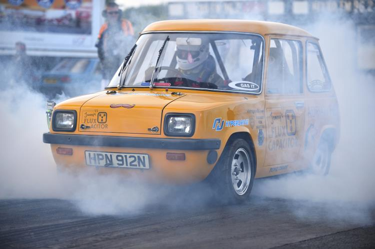 The Enfield 8000 smashes world speed record
