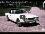 VotW - Triumph Stag British Leyland Training Video