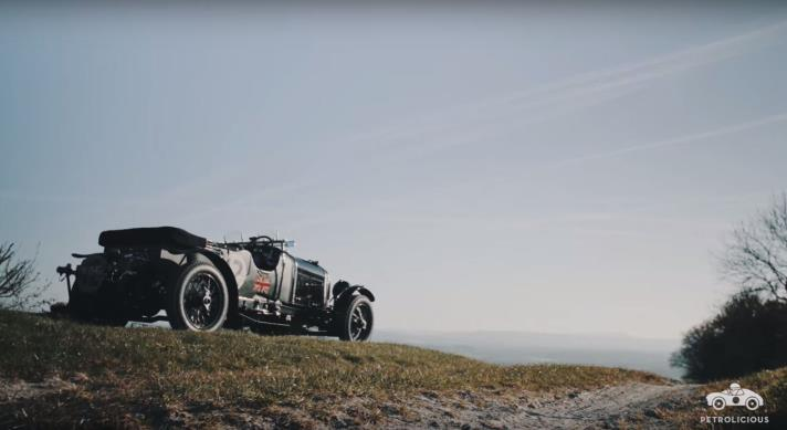 William Medcalf featured in stunning Petrolicious film Living Life as a Bentley Boy