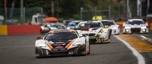 650S GT3 fights hard in the Total 24 Hours of Spa