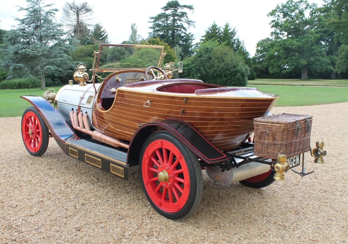 Chitty reconstruction flies into Beaulieu for summer holidays 1