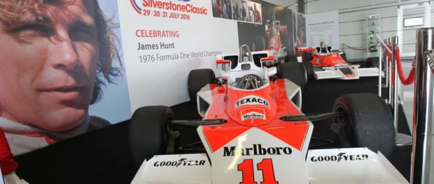 Don't miss the James Hunt 40 Years tribute on ITV4