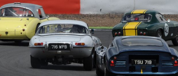 Don't miss the Silverstone Classic action on ITV4