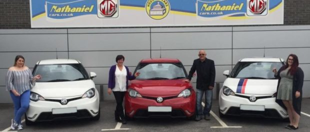 Dyer Family with MG3s