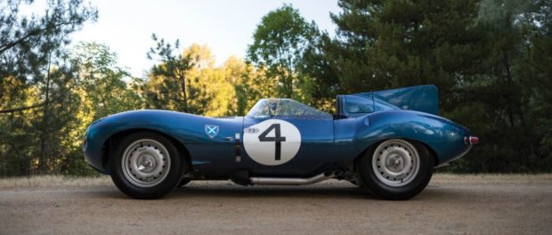 Ecurie Ecosse Jaguar D-Type British Auction Record