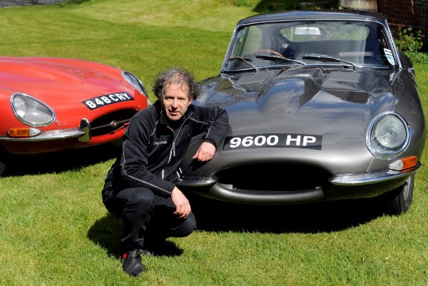 E-type Round Britain Coastal Drive Seats To Be Auctioned