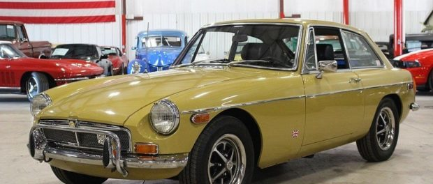 John Twist's 1973 MGB-GT For Sale