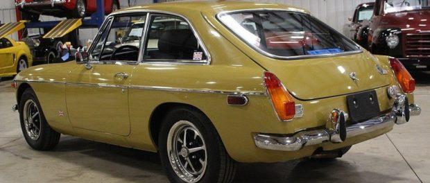 John Twist's MGB-GT For Sale