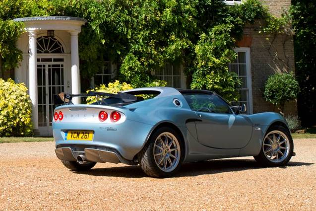 lotus elise 250 special edition announced just british. Black Bedroom Furniture Sets. Home Design Ideas