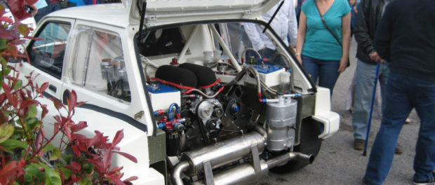 MG Metro 6R4 - Engine