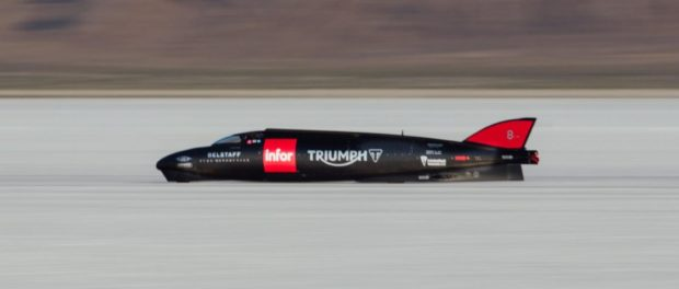 The world's fastest Triumph - the Triumph Infor Rocket Streamline